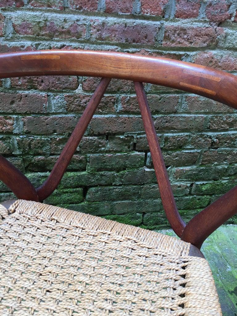 Henning Kjaernulf for Bruno Hansen Teak Chair For Sale 1