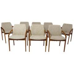 Henning Kjaernulf Teak Dining Chairs