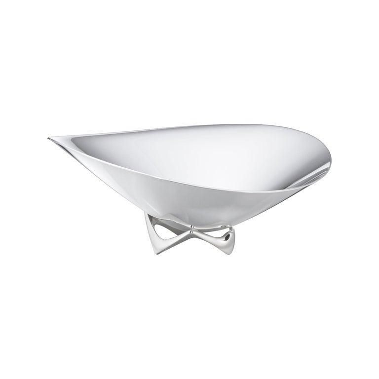 Henning Koppel 980A Handcrafted Sterling Silver Bowl for Georg Jensen For Sale