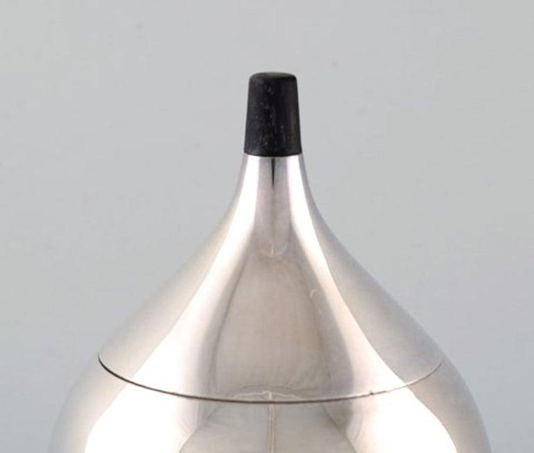 Scandinavian Modern Henning Koppel, Coffee Service in Sterling Silver, Georg Jensen For Sale