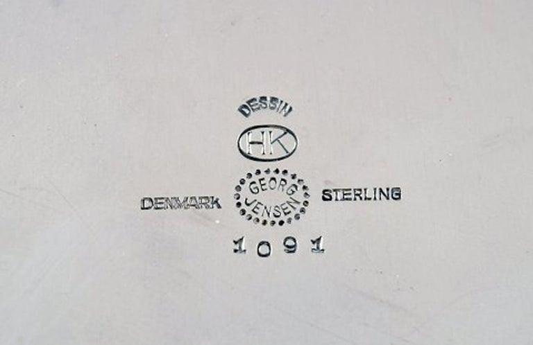 Henning Koppel, Coffee Service in Sterling Silver, Georg Jensen For Sale 2
