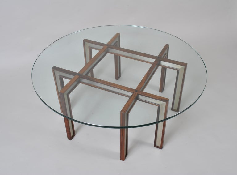Steel Henning Korch Coffee, Centre Table