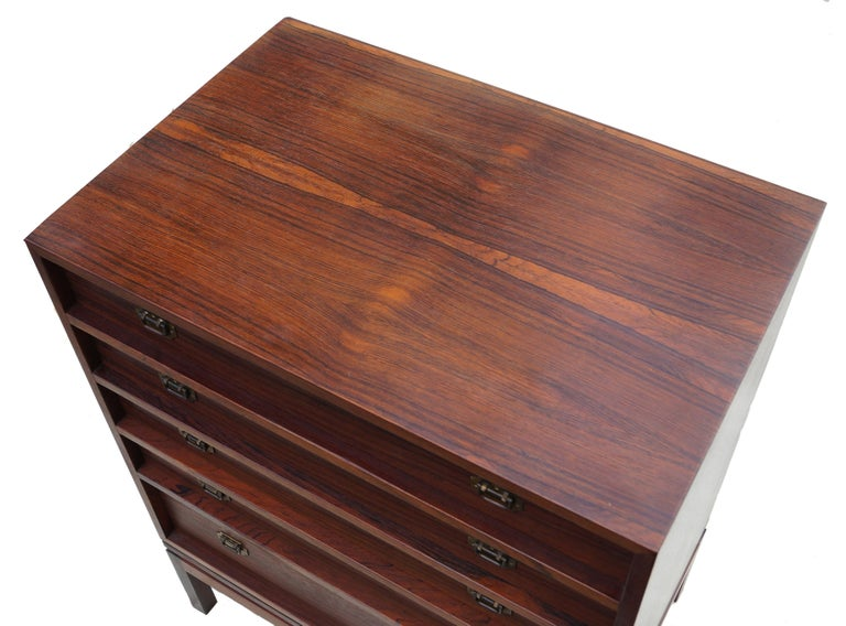 Henning Korch rosewood Campaign chest. Can have many uses.