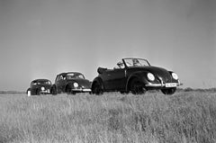 Three models of the Volkswagen beetle, Germany 1938 Printed Later