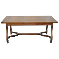 Henredon Acquisitions Collections Orleans Draw Leaf Dining Room Table