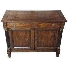Henredon Acquisitions Neoclassical Mahogany Buffet Cabinet Door Chest Server