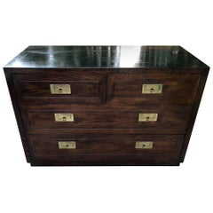 Henredon Campaign Chest of Drawers