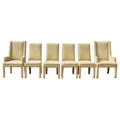 Henredon Parsons Style Upholstered Dining Chairs