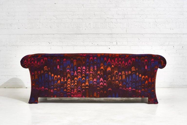 Henredon Sofas in Jack Lenor Larsen Velvet For Sale 4