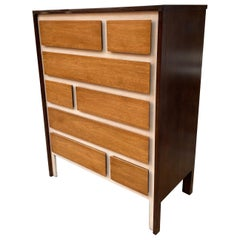 Henredon Tall Dresser in the Style of Gio Ponti