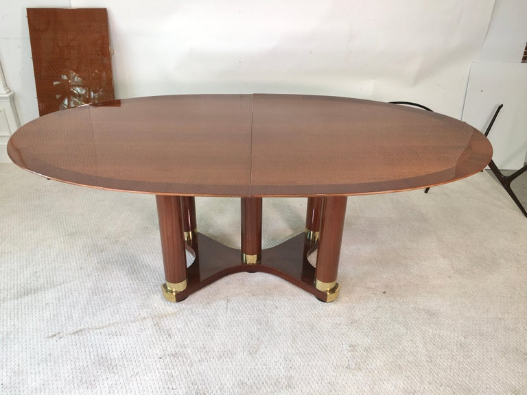 Modern Henredon Triomphe Oval Dining Table (SATURDAY SALE) For Sale
