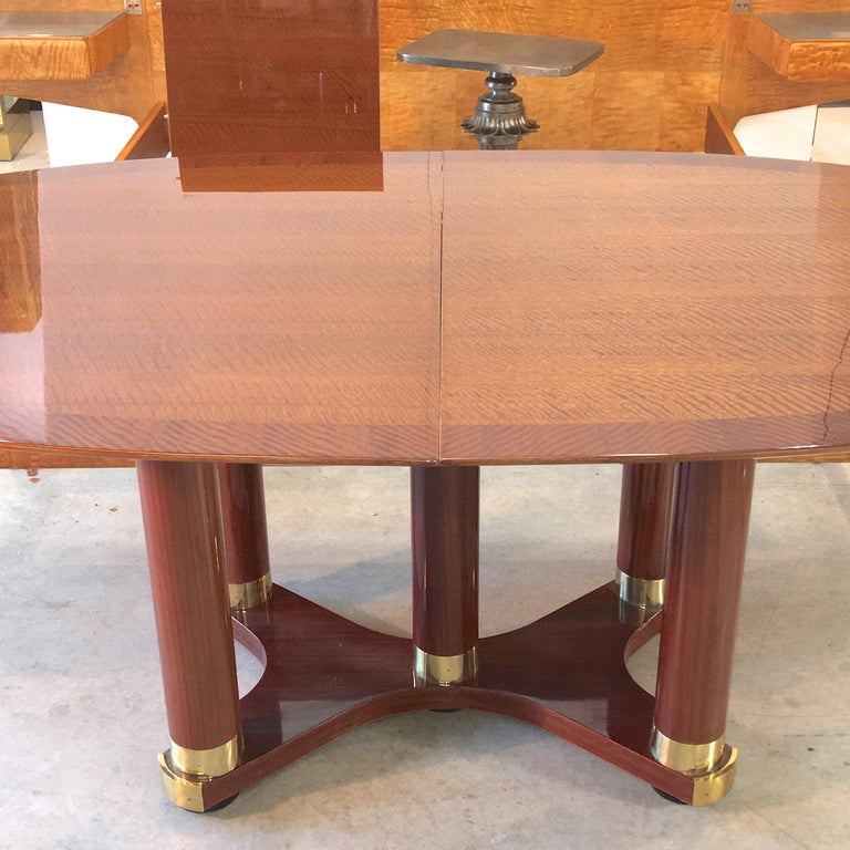 Henredon Triomphe Oval Dining Table (SATURDAY SALE) For Sale 5