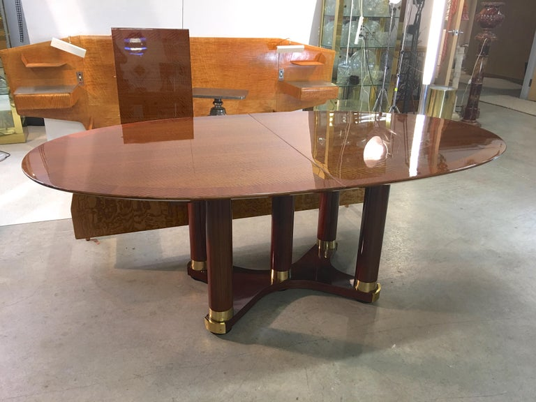 Henredon Triomphe Oval Dining Table For Sale 6