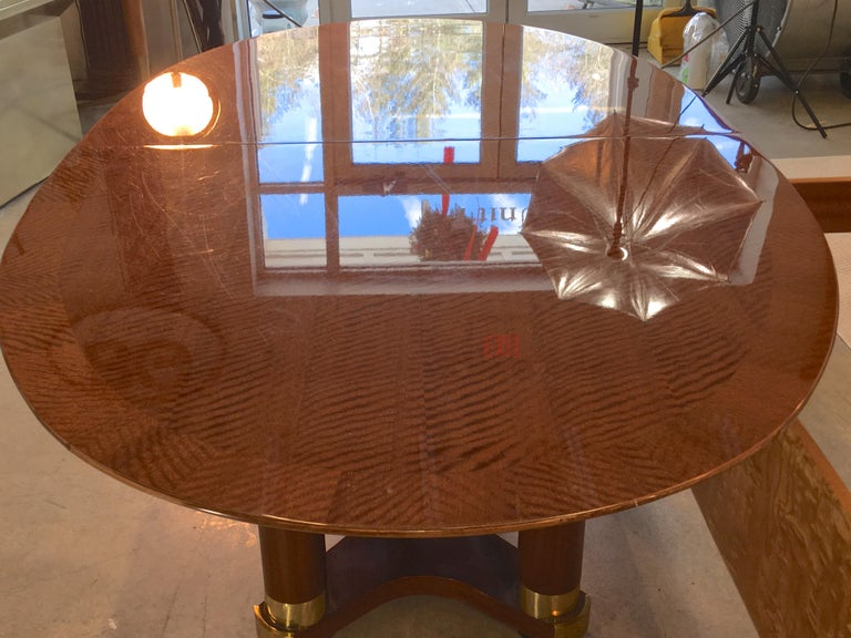 Henredon Triomphe Oval Dining Table For Sale 1