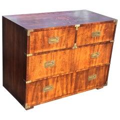 Henredon Walnut Campaign Dresser