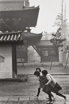 Kyoto, Japan - Henri Cartier-Bresson (Black and White Photography)