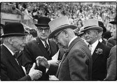 Longchamps, France, Vintage Documentary Photograph of Parisian Horse Races