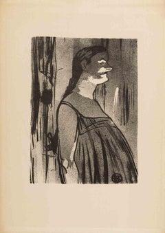 Madame Abdala - Original Lithograph by Henri de Toulouse Lautrec - 1893
