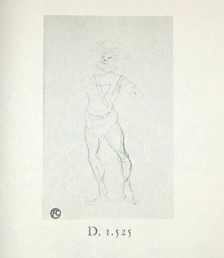 Henri De Toulouse Lautrec pencil Drawings Catalogued For Sale 2