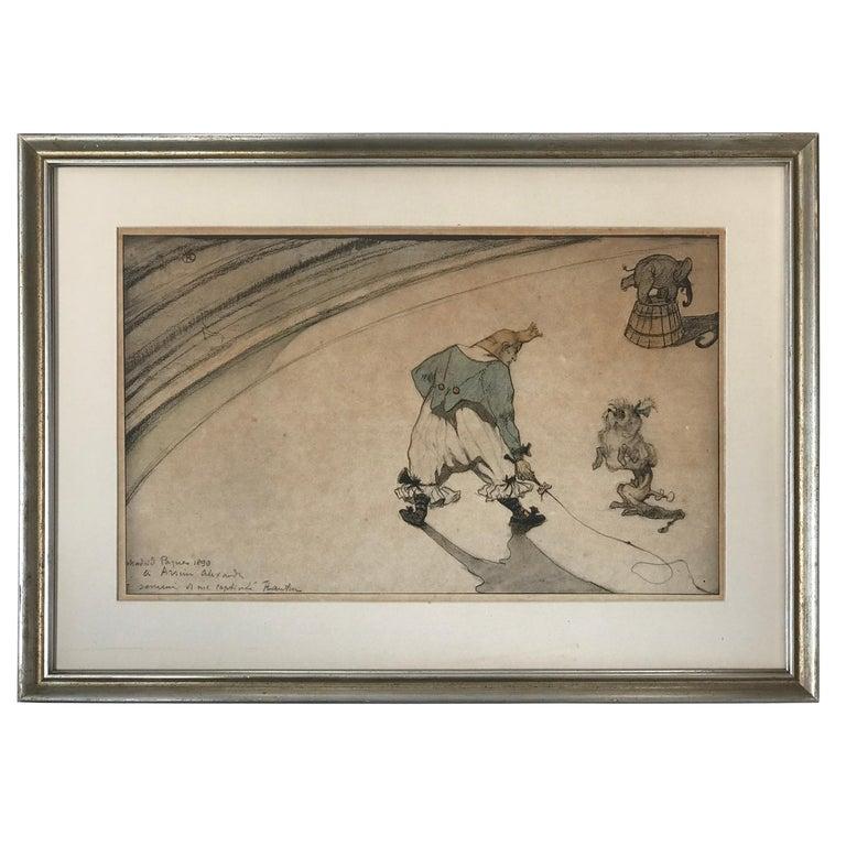 """Henri de Toulouse-Lautrec """"Au Cirque"""" For Sale"""