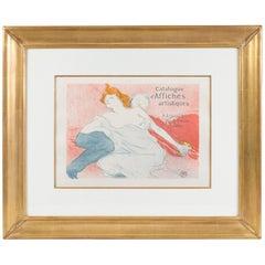 """Henri de Toulouse-Lautrec """"Débauché"""" Lithograph"""