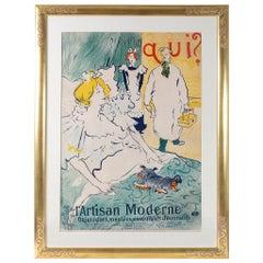 """Henri de Toulouse-Lautrec """"L'Artisan Moderne"""" Lithograph"""