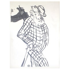 Henri de Toulouse-Lautrec, Lithograph with Monogram Signature in Print