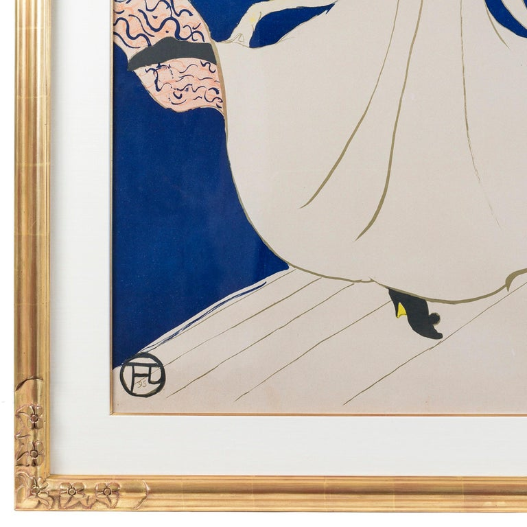 Woven Henri de Toulouse-Lautrec