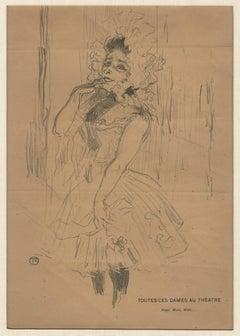 Anna Held, dans Toutes ces Dames au Theatre, recto and Footit et Chocolat, verso