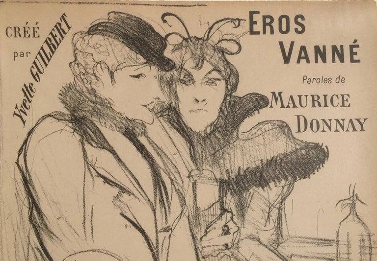 Eros Vanne - Cupid Exhausted - Print by Henri de Toulouse-Lautrec