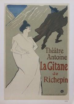 """""""La Gitane de Richepin"""" Lithograph XXXI"""
