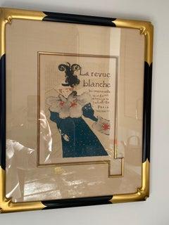 """""""La Revue Blanche"""" by Henri de Toulouse-Lautrec"""