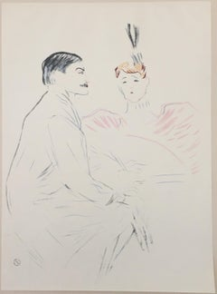 Lucien Guitry et Jeanne Granier