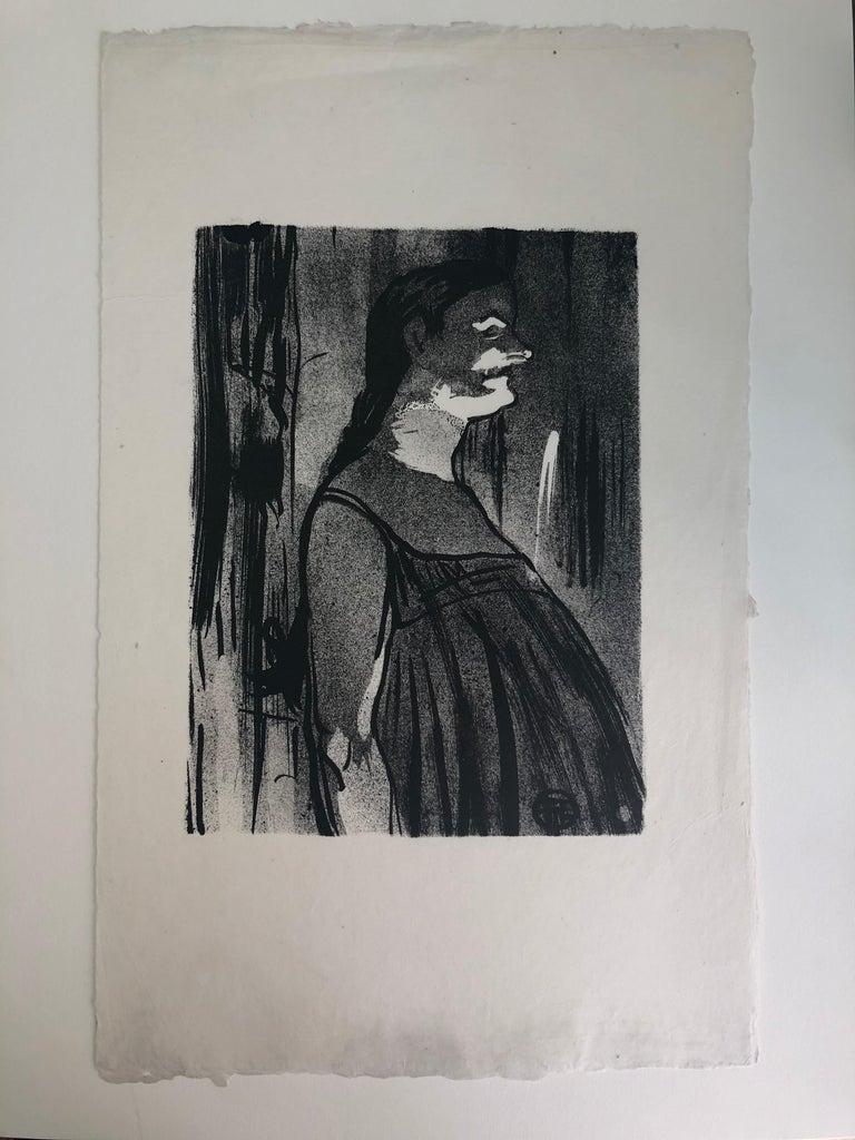 Madame Abdala - Original Lithograph by H. de Toulouse-Lautrec - 1893 - Print by Henri de Toulouse-Lautrec