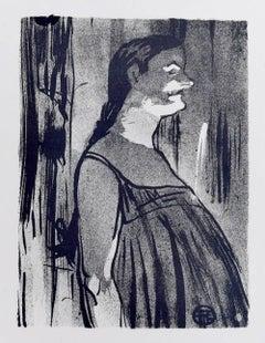 Madame Abdala - Original Lithograph by H. de Toulouse-Lautrec - 1893