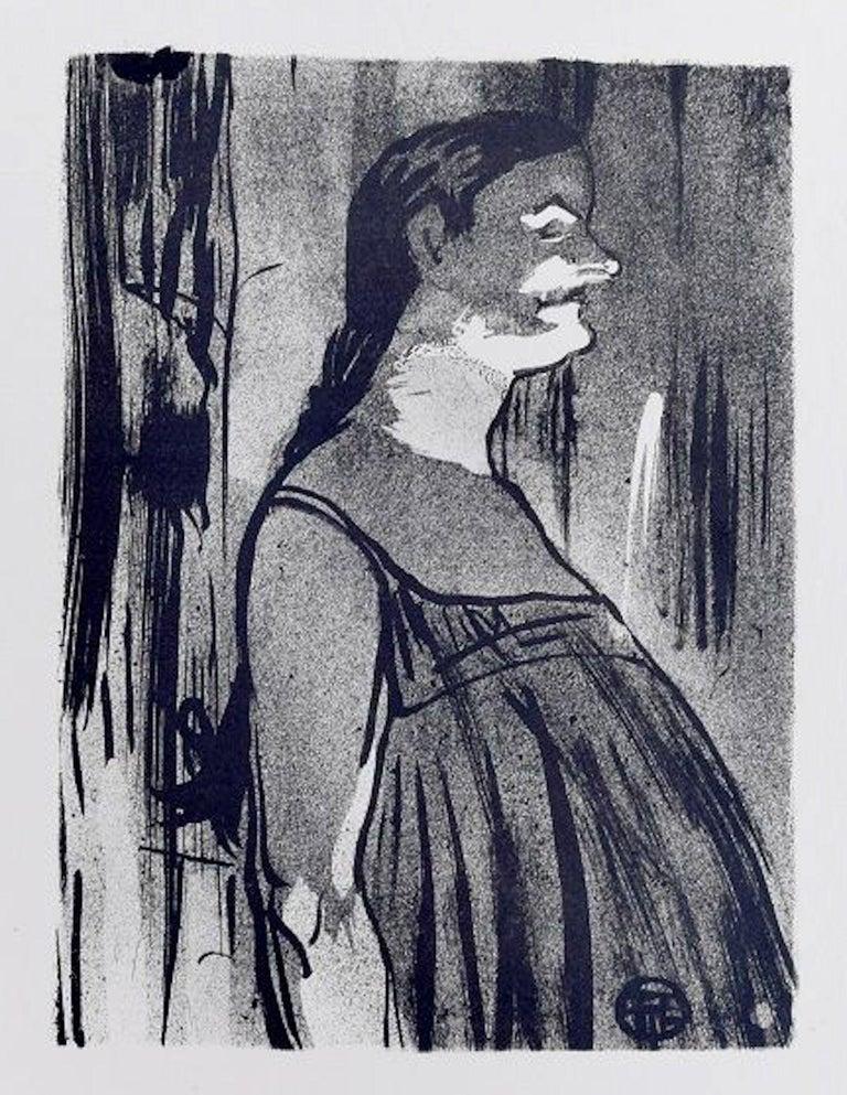 Henri de Toulouse-Lautrec Figurative Print - Madame Abdala - Original Lithograph by H. de Toulouse-Lautrec - 1893