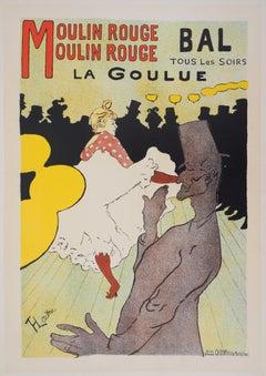 Moulin Rouge : La Goulue - Lithograph (Les Maîtres de l'Affiche), 1897