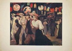 Pigalle - Vintage Offset Poster after H. de Toulouse-Lautrec - Late 20th Century