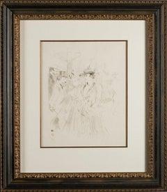 """""""Promenoir"""" by Henri de Toulouse-Lautrec"""