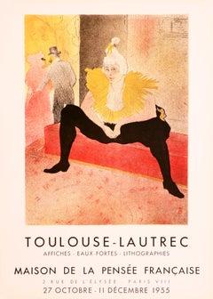 The seated Clowness - Maison de la Pensée Francaise