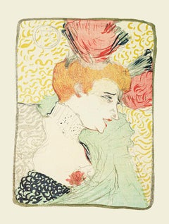 Woman - Offset Print After Henri de Toulouse-Lautrec - 1970s