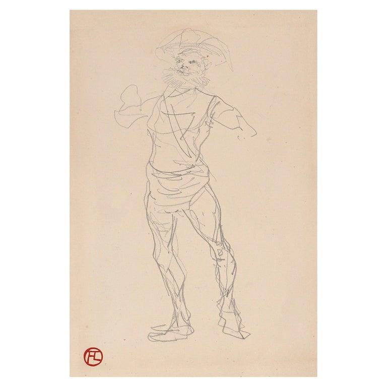 Henri De Toulouse Lautrec pencil Drawings Catalogued For Sale