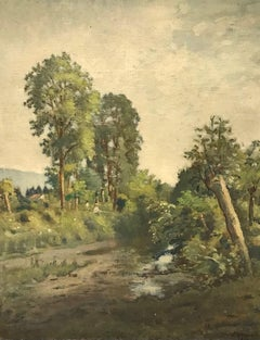 The banks of the Arve