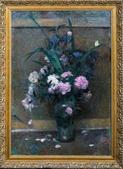 Still Life Of Wilting Roses, 19th Century