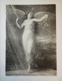 Immortality - Original lithograph (1897/98)