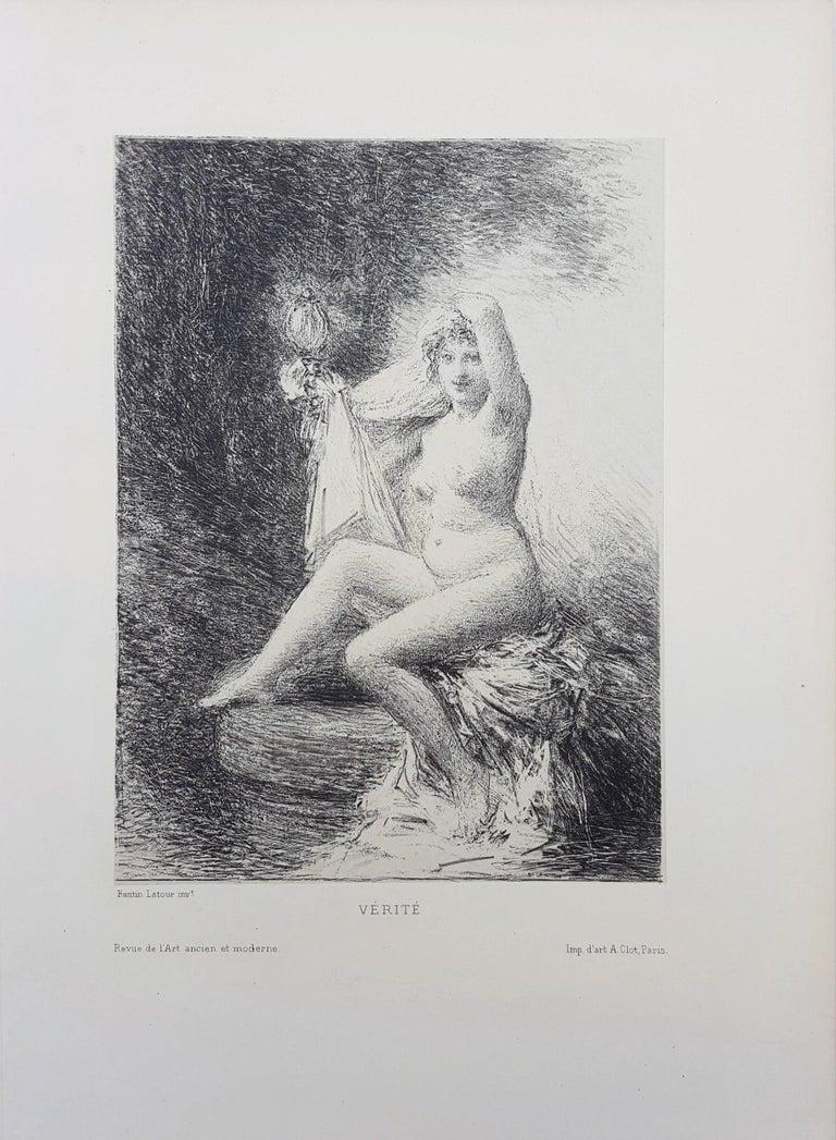 Vérité (Truth) - Print by Henri Fantin-Latour