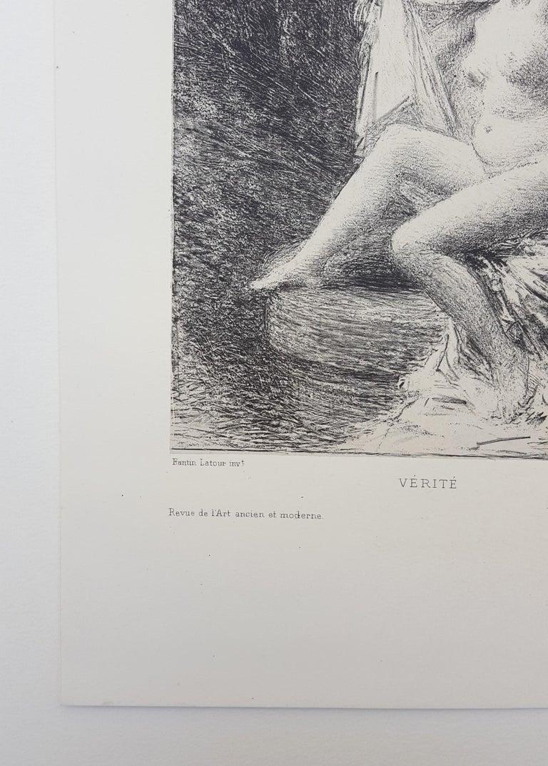 Vérité (Truth) - Impressionist Print by Henri Fantin-Latour