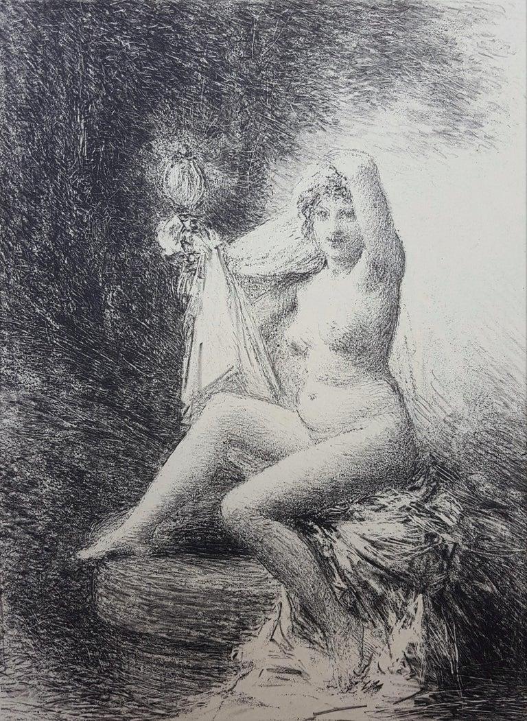 Henri Fantin-Latour Nude Print - Vérité (Truth)
