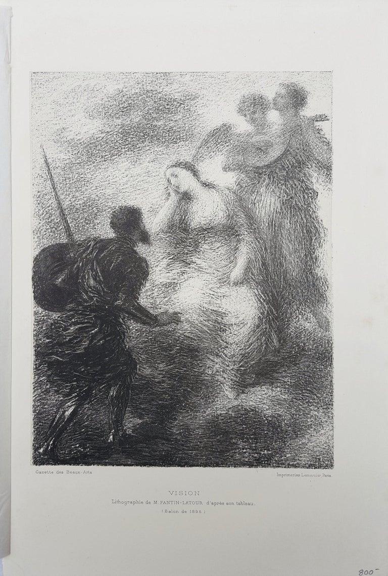 Vision - Print by Henri Fantin-Latour