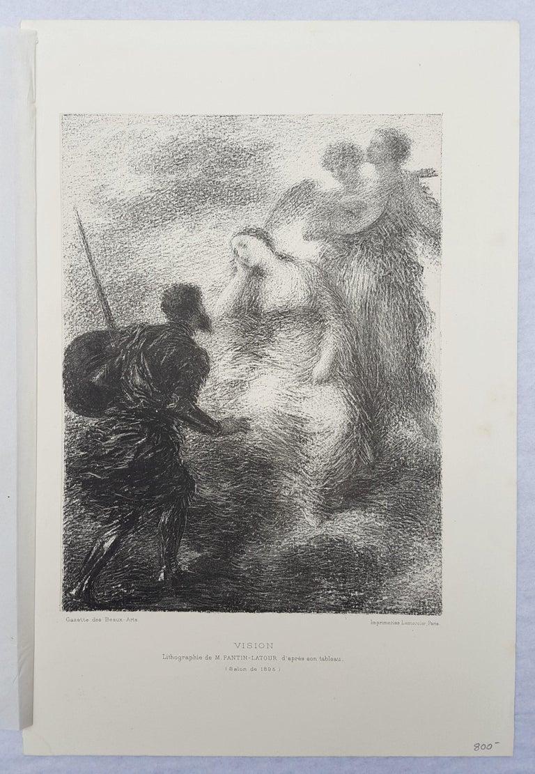 Vision - Impressionist Print by Henri Fantin-Latour